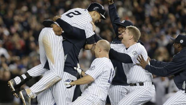 Derek Jeter Walks Off in Final Game at Yankee Stadium