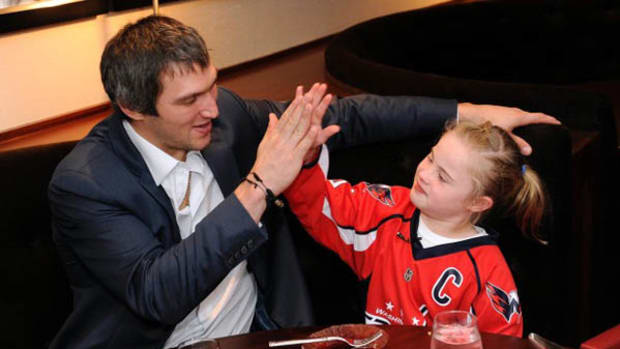 10-Year-Old Girl Goes on a Sushi Date with Alex Ovechkin