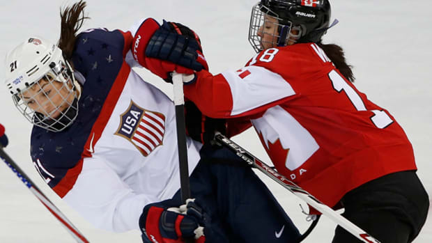 US and Canadian Women Play for Gold — Again