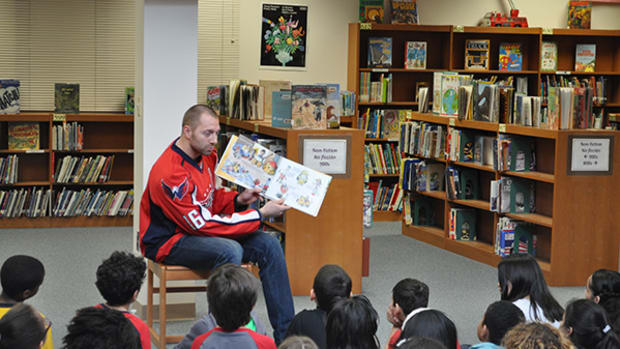 Capitals Center Eric Fehr Writes Kids Book to Fight Bullying