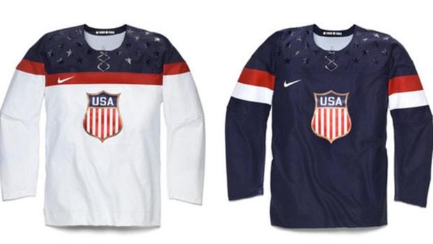 Nike and Team USA Reveal 2014 Olympic Hockey Jerseys