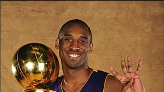 Kobe Finally Got it Done