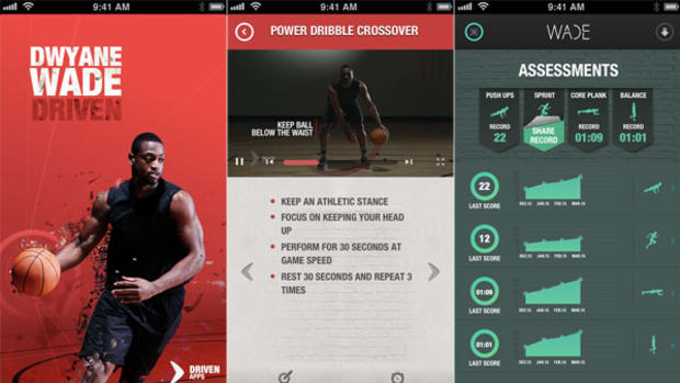 Dwyane Wade Driven App Puts the NBA Superstar in Your Pocket