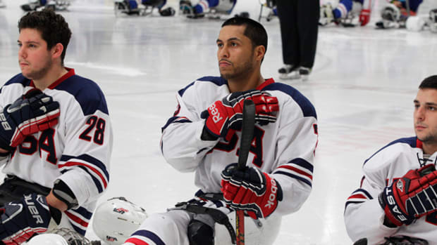 True Patriot: US Paralympic Sled Hockey Star Rico Roman