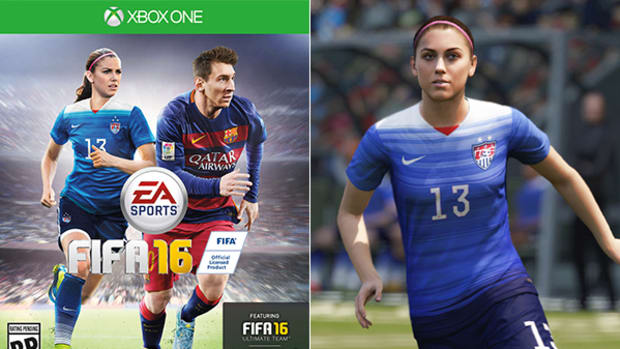 Women's Soccer Added to FIFA Video Game, Alex Morgan Shares the Cover of FIFA 16