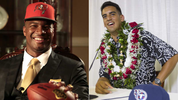 Jameis Winston, Marcus Mariota Go 1-2 in NFL Draft