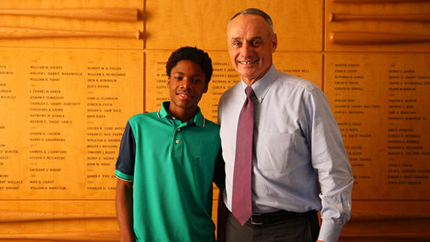 MLB Commissioner Rob Manfred's Plan to Grow Baseball, One Kid at a Time