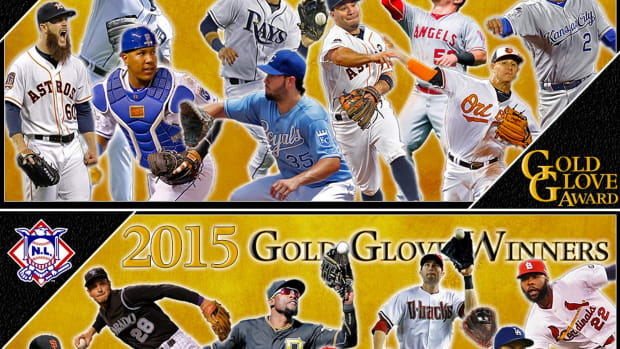 Meet Your 2015 Gold Glove Winners