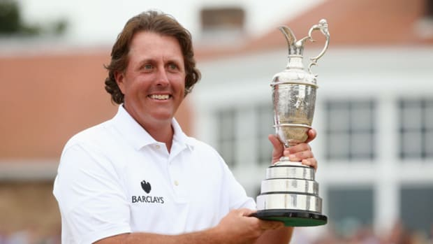 Phil Mickelson Putts Himself One Step Closer to Career Grand Slam