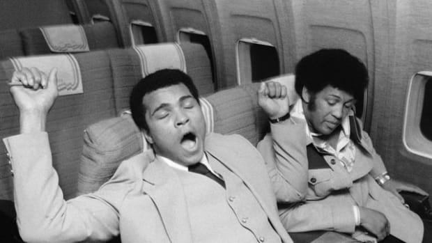 Athletes on Airplanes - 1 - Muhammad Ali