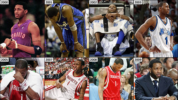 More Playoff Disappointment for McGrady