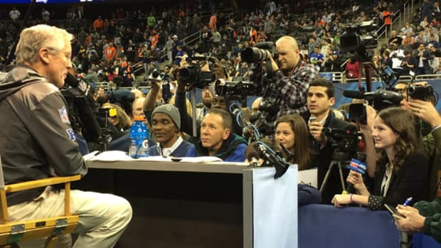 From the Interview Floor on Super Bowl XLVIII Media Day