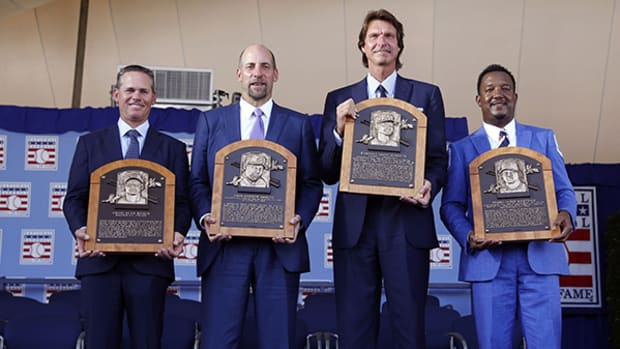 Biggio, Smoltz, Johnson, Martinez Inducted Into Baseball Hall of Fame