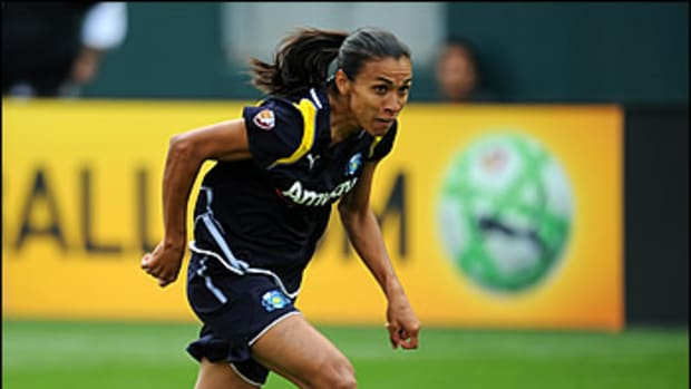 Women's Professional Soccer Q&A: Marta