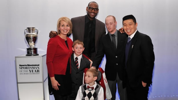 SportsKids of the Year honored with LeBron James at star-studded event