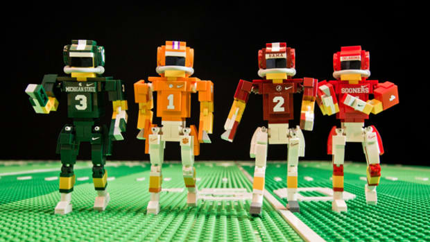 Get Pumped for the College Football Playoff with Hard-Hitting Lego Action