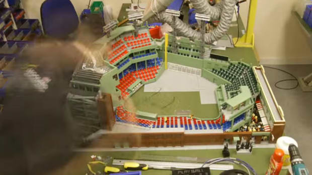 LEGO Fenway Park, from the Ground Up