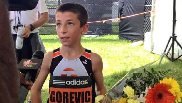 10-Year-Old Sets World Record at Adidas Grand Prix!