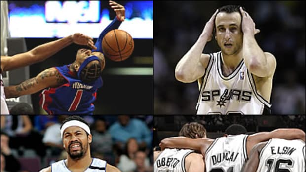 It's All Over: Pistons, Spurs Dynasties are Done