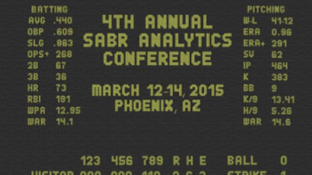 Annual SABR Analytics Conference Begins Thursday