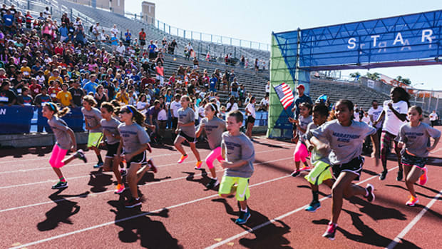 Encouraging Kids to Be Healthy and Active, One Lap at a Time