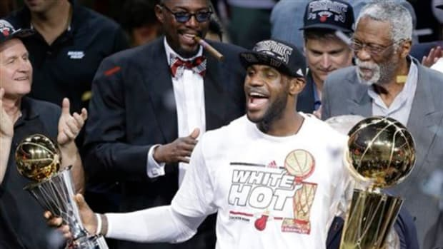 LeBron, Wade and Battier Lead the Heat To a Second-Straight Title