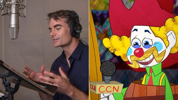 """Exclusive First Look: Jeff Gordon Zooms Onto Disney XD's """"Penn Zero"""""""