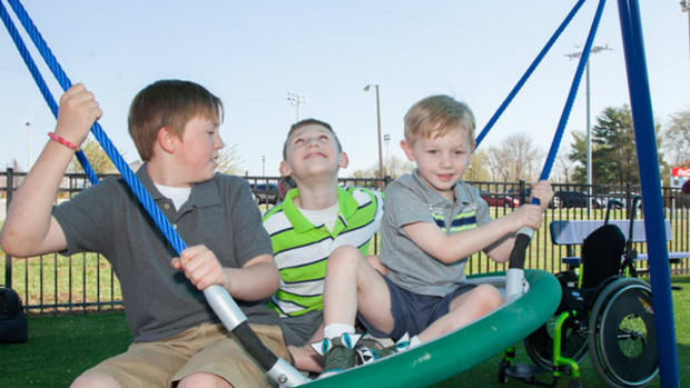 Conner and Cayden Long Honored With a Playground