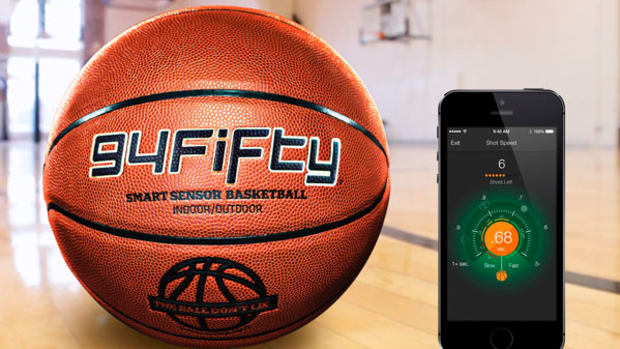 Gear: 94Fifty Smart Sensor Basketball