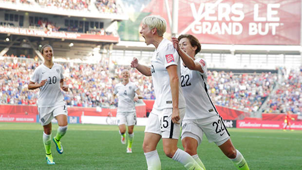 2015 Women's World Cup: Megan Rapinoe Powers US to Game 1 Win