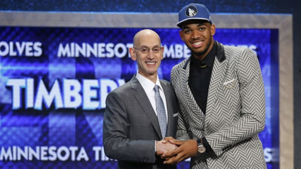 2015 NBA Draft: Karl-Anthony Towns Goes First Overall
