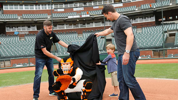 How Giants Catcher Buster Posey Was Immortalized in LEGO