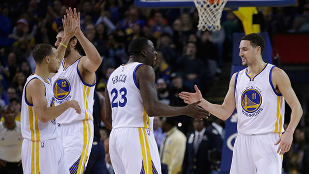 Talent and Chemistry Make the Warriors Golden