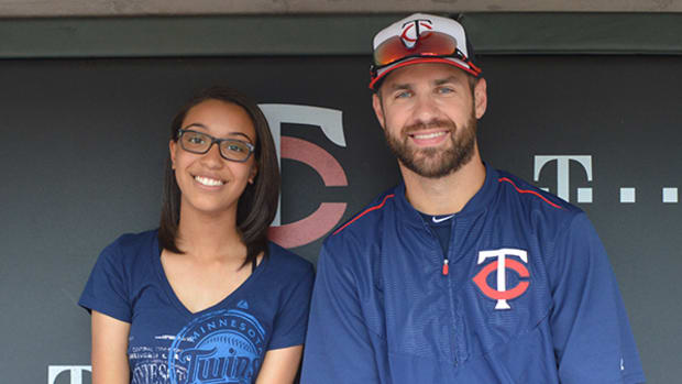 A Dugout Interview with Twins Star Joe Mauer
