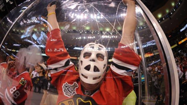 One Happy Blackhawks Fan