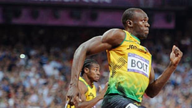 Usain Bolt Wins Olympic 200m and Makes History, Blake Takes Silver