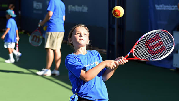 All-Stars Stop By U.S. Open to Help Kids be Well-Rounded Athletes
