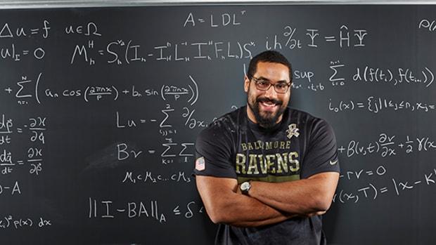 Smarty Pants: Ravens Offense Lineman John Urschel is a New Kind of Mathlete