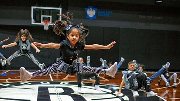 Making the Cut for the Nets Kids Dance Team