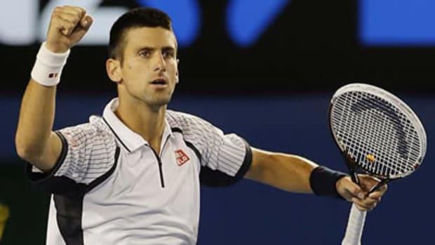Novak Djokovic: Party Crasher