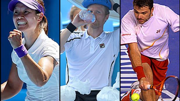 Surviving the Heat at the Australian Open