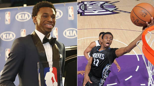 Andrew Wiggins Named 2014-15 NBA Rookie of the Year
