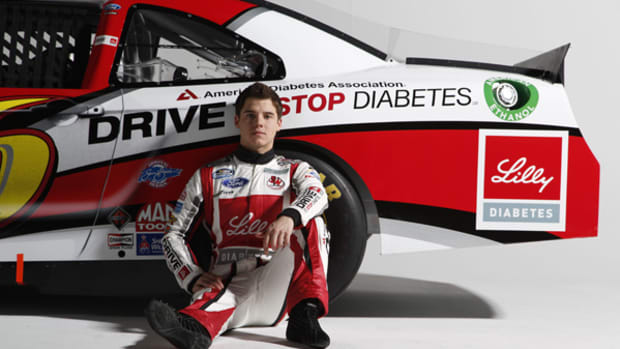 Ryan Reed's Race Against Diabetes