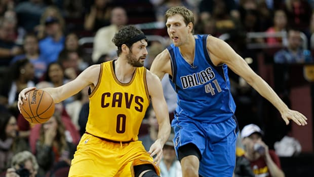 Cavs Star Kevin Love on Injuries, Mouth Guards, and Making Another Finals Run