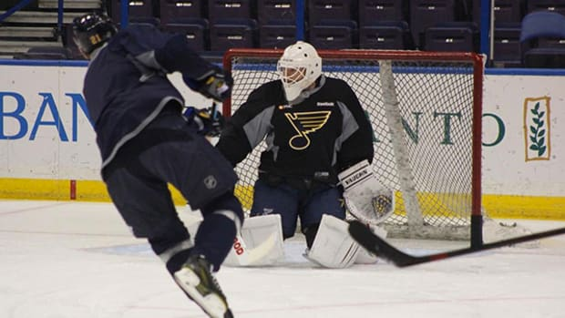 NHL Legend Martin Brodeur Signs with the Blues