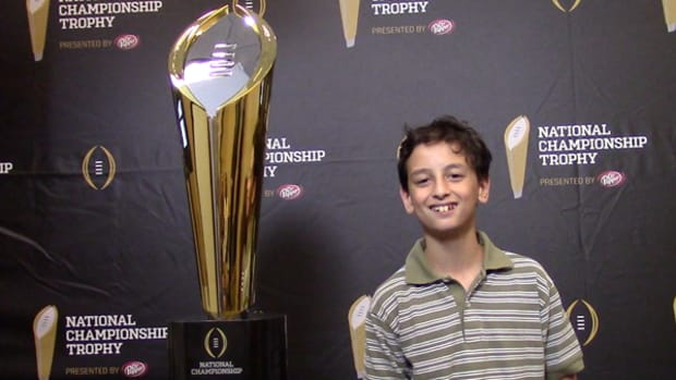 New National Championship Trophy Unveiled in Texas