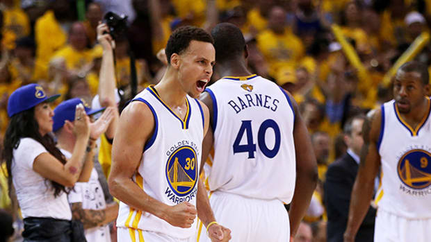 2015 NBA Finals Game 1: By the Numbers
