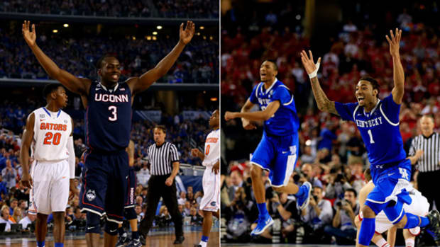 And Then There Were Two: Kentucky and UConn Reach Title Game!