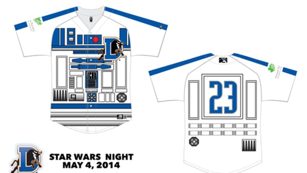 The Force is Strong with the Durham Bulls