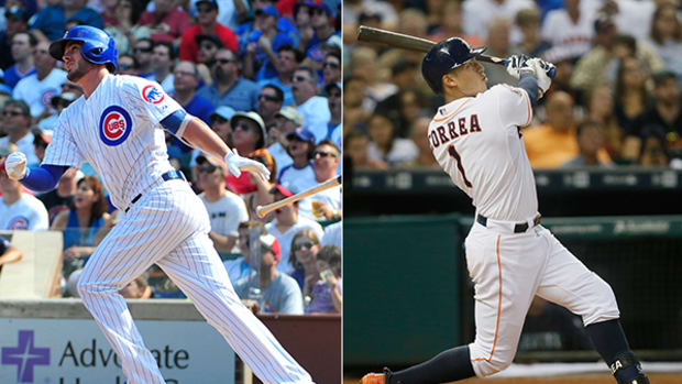 Kris Bryant and Carlos Correa are Your 2015 Rookies of the Year